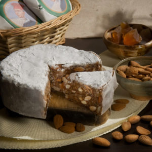 Panforte dessert by Il Magnifico Panificio in Siena Tuscany