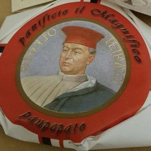 Panpepato Sienese artisan dessert Il Magnifico Bakery in Siena
