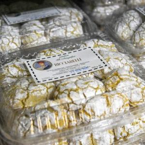 Ricciarelli typical Sienese dessert Il Magnifico Bakery